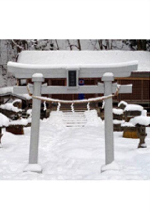 常盤神社鳥居(2012寄贈)